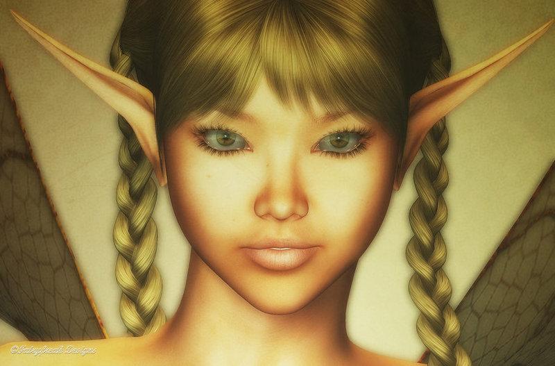 Les elfes, les anges ... - Page 2 Lelu_Portrait_by_fairyfreakster