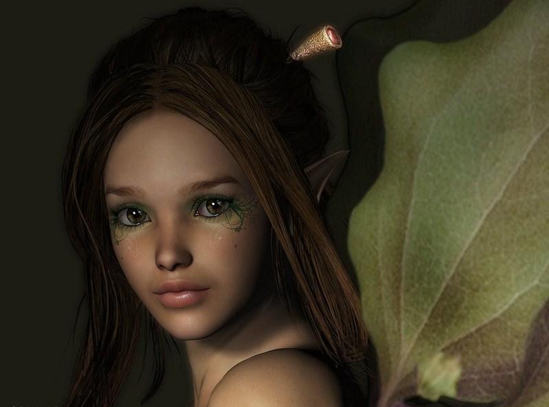 Les elfes, les anges ... - Page 2 Twig_Fairy_Portrait_by_fairyfreakster