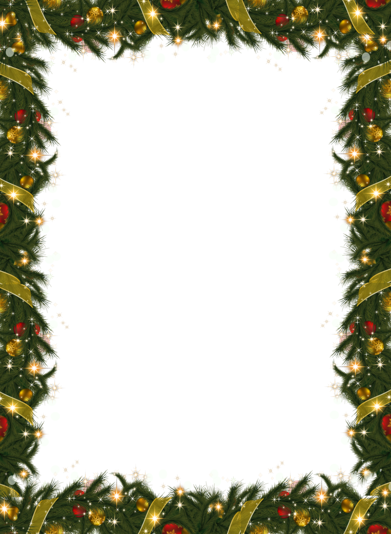 clipart christmas garland border - photo #8